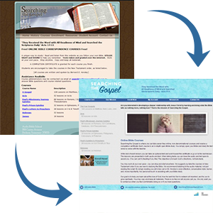 Searching the Scriptures Redesign